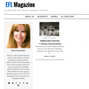 Marisa Constantinides Author at EFL Magazine