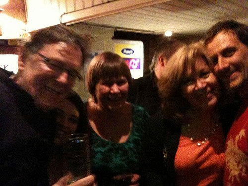 Jeremy Harmer, Shelly Terrell, Carol Rainbow, myself and Tamas Lorincz at IATEFL Harrogate 2010