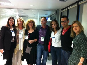 With Marcia Lima, Nicky Hockly, Lindsay Clanfield, Carla Arena, Luke Meddings & Malu Schiamarelli